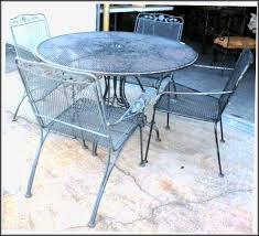 Antique Cast Iron Patio Furniture Painted Wrought Iron Patio Furniture Patios Home Design Ideas