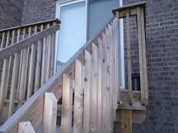 Handrail Height For Decks Deck Stair Railing Code Ontario Ontario Building Code Deck Stair
