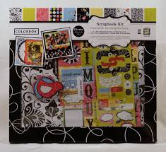 colorbok scrapbook colorbok scrapbook kit bright bird