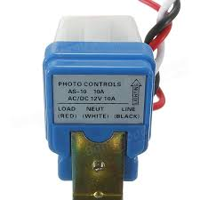 photocell street light photoswitch sensor auto on off switch dc