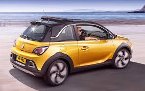 acid yellow jeep vauxhall adam rocks review 2014 parkers