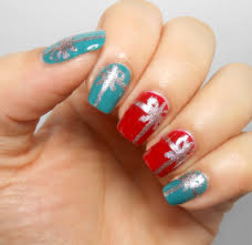 three easy christmas manicures with three polishes blogmas 2015