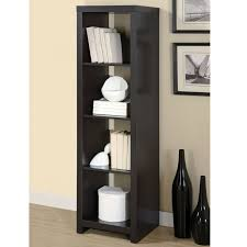Cream Bookshelves by Furniture Mini Black Wooden Cube Bookcase With Shelves On Cream