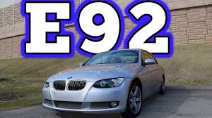 2009 bmw e92 335i x drive coupe regular car reviews youtube