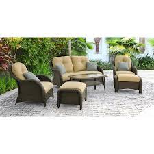Newport Patio Furniture by Newport 6 Piece Seating Set In Cream Newport6pc