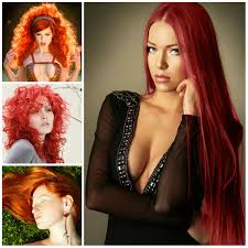 bright red hair color ideas for 2017 u2026 pinteres u2026