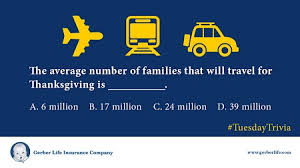 thanksgiving day travel gerber insurance