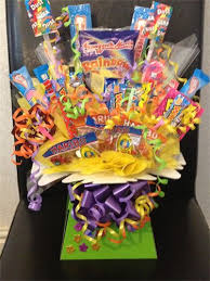homemade gift ideas sweet candy bouquet perfect for birthday