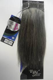 human hair in salt and pepper 8 salt n pepper human hair straight weave track grey color 51