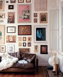 living room wall art ideas house tour an eclectic mix of vintage