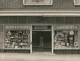 shop boots chemist shops and shopping from the past