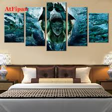 Vintage Modern Home Decor Online Get Cheap Vintage Mermaid Painting Aliexpress Com