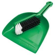 Banister Brush Oates B 10207 G Dust Pan U0026 Banister Brush Green Staples Now Winc