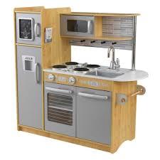 kidkraft modern country kitchen set uptown natural play kitchen