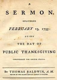 sermon thanksgiving 1795 massachusetts wallbuilders