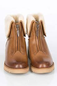 ugg sale beyond the rack ugg caleigh sheepskin leather boots in chestnut