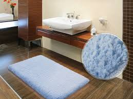 Thick Bathroom Rugs Fluffy Bathroom Rugs Sky Blue 6 Sizes Available