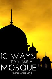 13 creative mosque crafts to make with kids mosque craft and