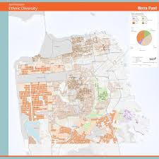 San Francisco Cable Cars Map by San Francisco Demographics Map Michigan Map