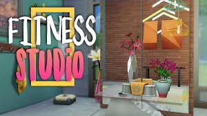 fitness studio sims 4 room build youtube