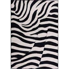 Black And Gray Area Rug Animal Print Area Rugs Rugs The Home Depot