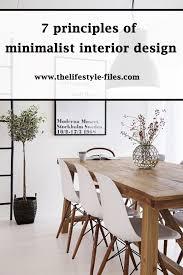 minimalist aesthetics interior design the lifestyle files