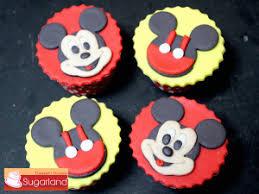 mickey mouse cupcakes sugarland designer cupcake cupcakes