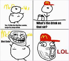 Funny Meme Faces Pictures - troll face mcdonald by sam lim on deviantart