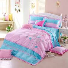 Shabby Chic Blue Bedding by Shabby Chic Bedding Bed Purple Blue And Purple Flower Princess