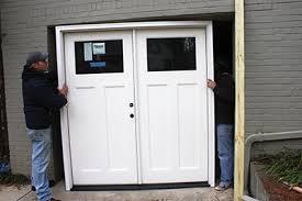 Garage Door Conversion To Patio Door Door Garage Conversion How To