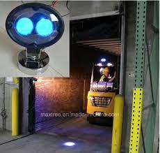blue warning lights on forklifts china forklift led warning light modulator tube blue spot point 10
