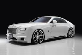 roll royce wraith 2015 wald gives the rolls royce wraith a black bision treatment
