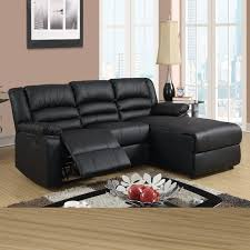 Gray Leather Reclining Sofa Black Leather Reclining Sectional Products Homesfeed
