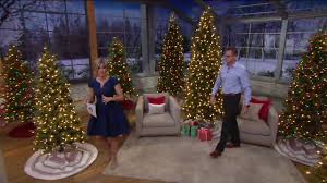 bethlehem lights prelit sitka spruce tree on qvc