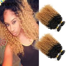 honey weave curly ombre hair weave 4pcs honey curly ombre