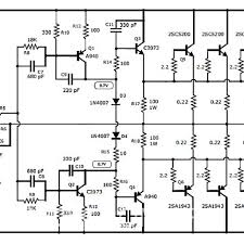 Transformer Coupled Transistor Amplifier Schematic 1000w Stereo Audio Amplifier With Transistor 2sc5200 2sa1943