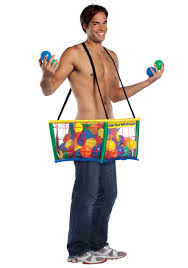 crayons halloween costume mens funny ball pit costume humor halloween costumes
