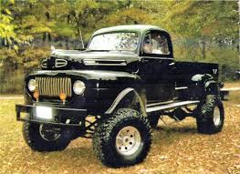 1950 ford up truck 1950 ford 4 x 4 up not a dodge but i sure do think this is