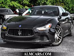 maserati ghibli sedan 2014 used maserati ghibli 4dr sedan s q4 at alm gwinnett serving