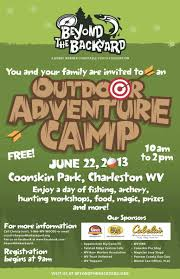 outdoor adventure camp beyond the backyard