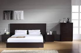 bedrooms contemporary furniture modern queen bed frame leather