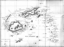 Fiji Islands Map Thomas Williams