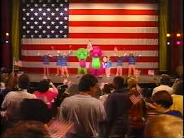 The Backyard Show Book Barney by Barney In Concert Barney Wiki Fandom Powered By Wikia