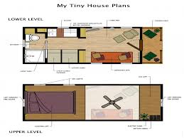 Loft Floor Plans Cool Tiny House Plans On Wheels With Loft Pictures Inspiration