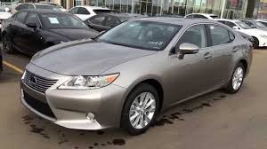 lexus hybrid sedan price new atomic silver 2015 lexus es 300h hybrid walk through review