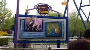 Bizarro Six Flags Great Adventure Six Flags New England Adds Sky Screamer Theme Park University