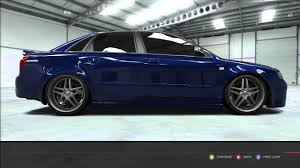 2004 audi s4 blue forza 4 2004 audi s4 build up with top speed run