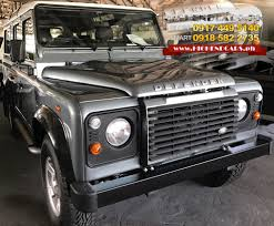 land rover jeep defender for sale highendcars ph the premium high end cars and bulletproof vehicle