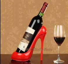 funny heels wine rack interest resin shoes wine holders cool wine