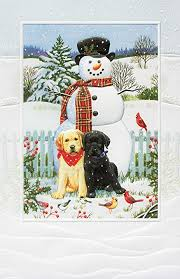pumpernickel christmas cards pumpernickel press boxed christmas cards backyard